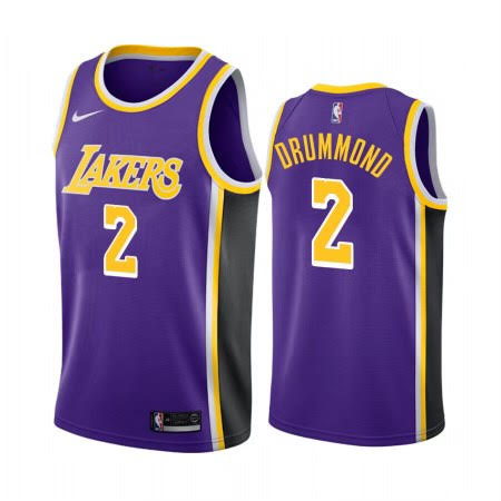 Andre Drummond Lakers Purple Jersey