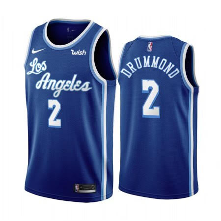 Andre Drummond Lakers Blue Jersey