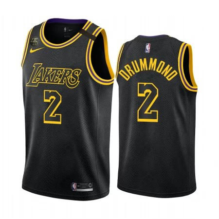 "Andre Drummond Lakers ""Black Mamba"" Jersey"
