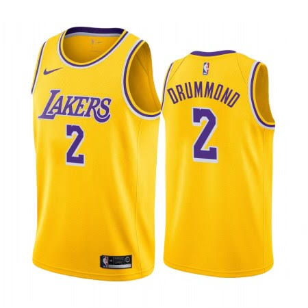 Andre Drummond Lakers Gold Jersey