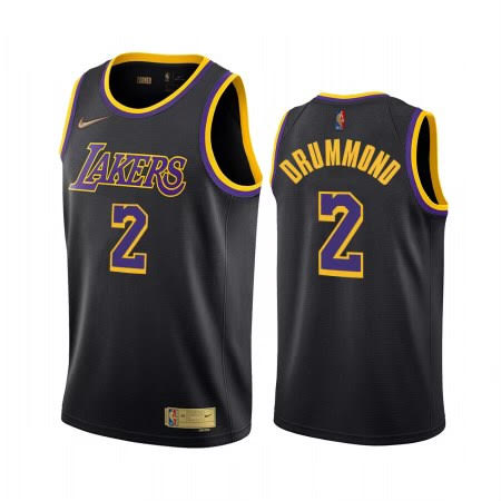 Andre Drummond Lakers Black Jersey