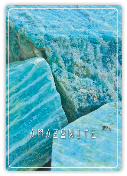 Amazonite, pierre naturelle