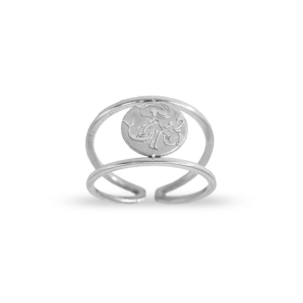 Anillo Sello Aquarius