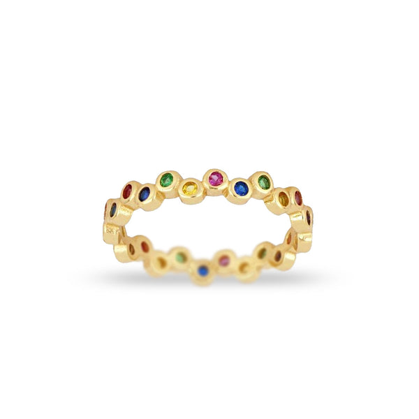 Anillo Points Rainbow
