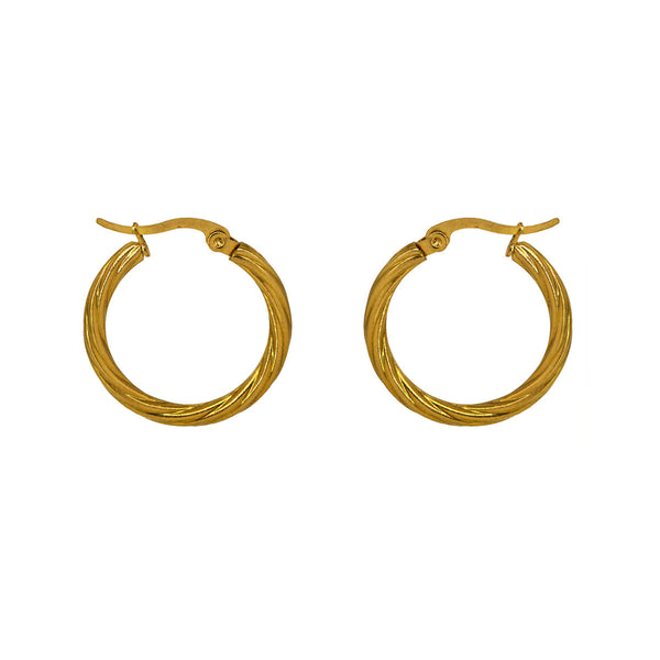 Curly Hoops - 3 sizes