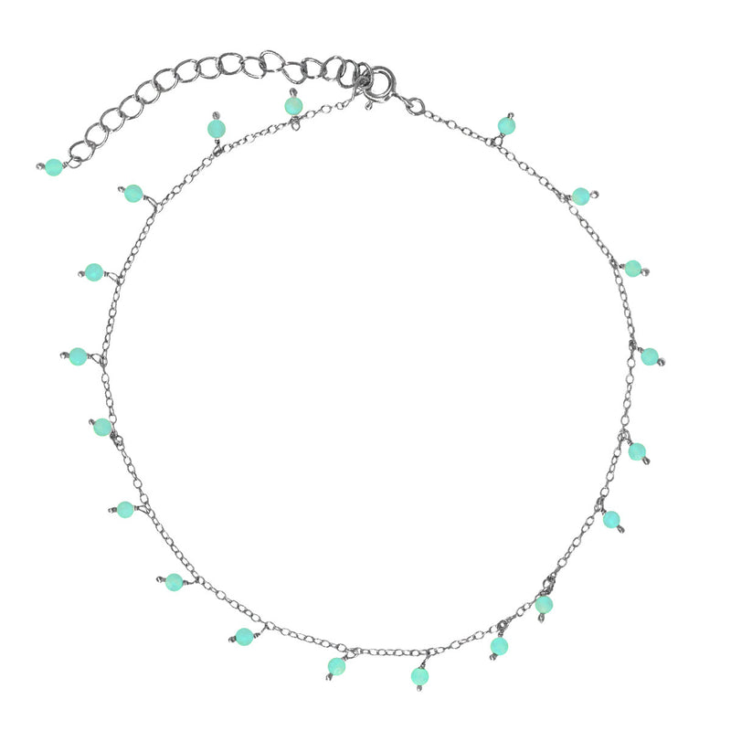 Hawaii Amazonite Anklet
