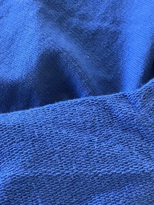 Designer 100% Cotton Lightweight French Terry Fabric -Blue - Fancy Styles Fabric Pierre Frey Lee Jofa