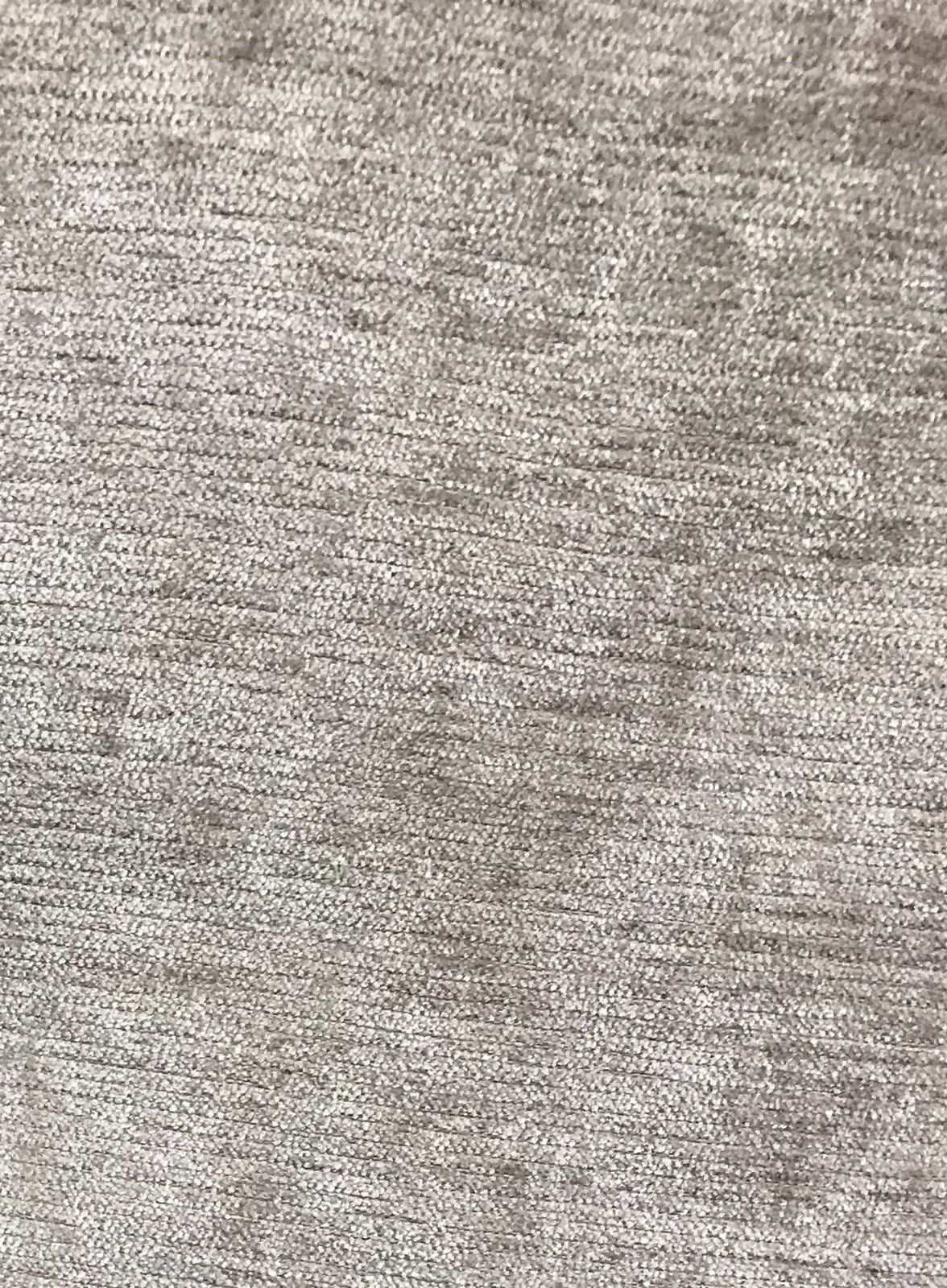 SWATCH: Designer Velvet Chenille Fabric - Antique Silver Gray - Upholstery - Fancy Styles Fabric Boutique