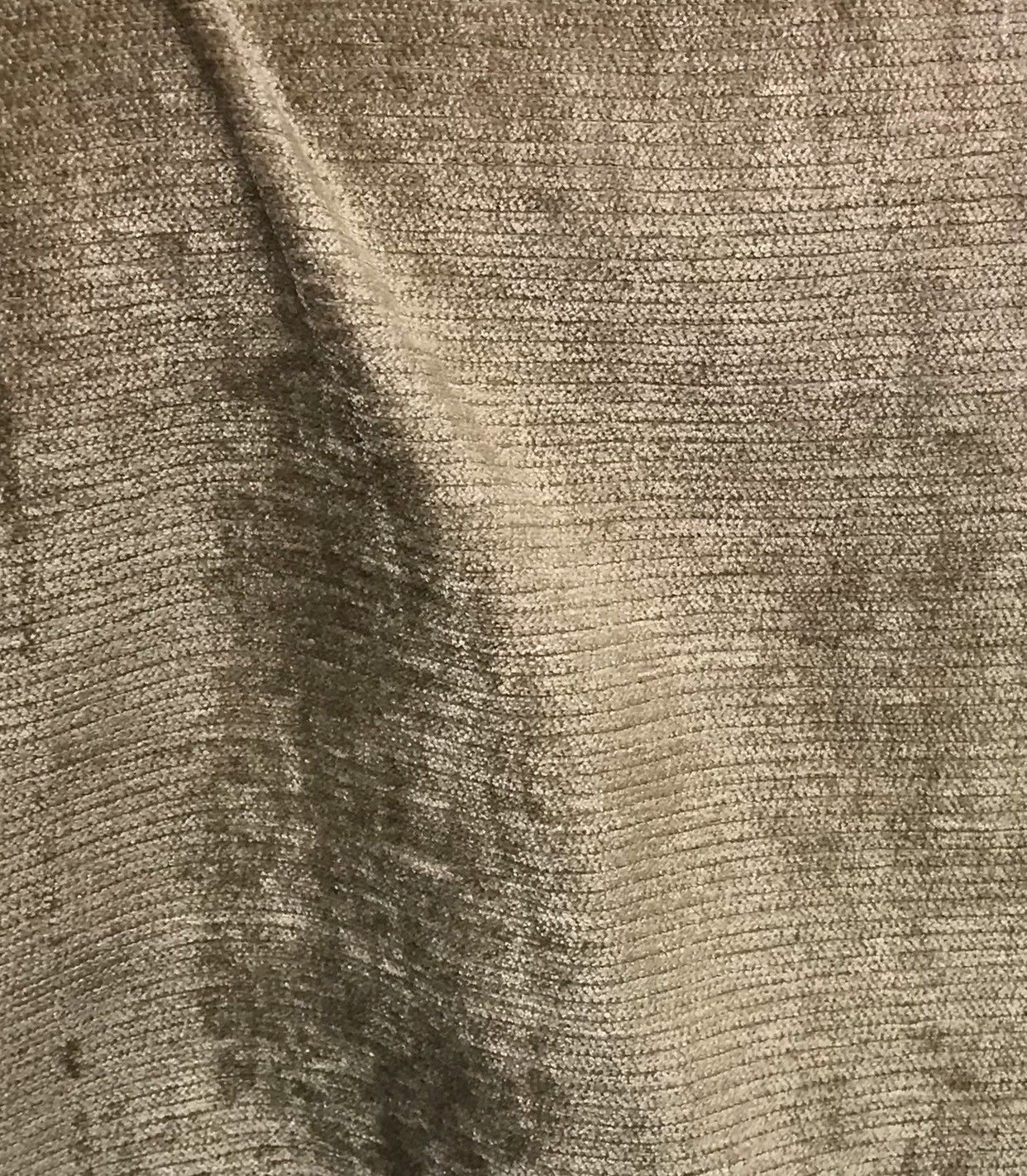 SALE! Designer Velvet Chenille Fabric - Olive Taupe - Upholstery - Fancy Styles Fabric Boutique