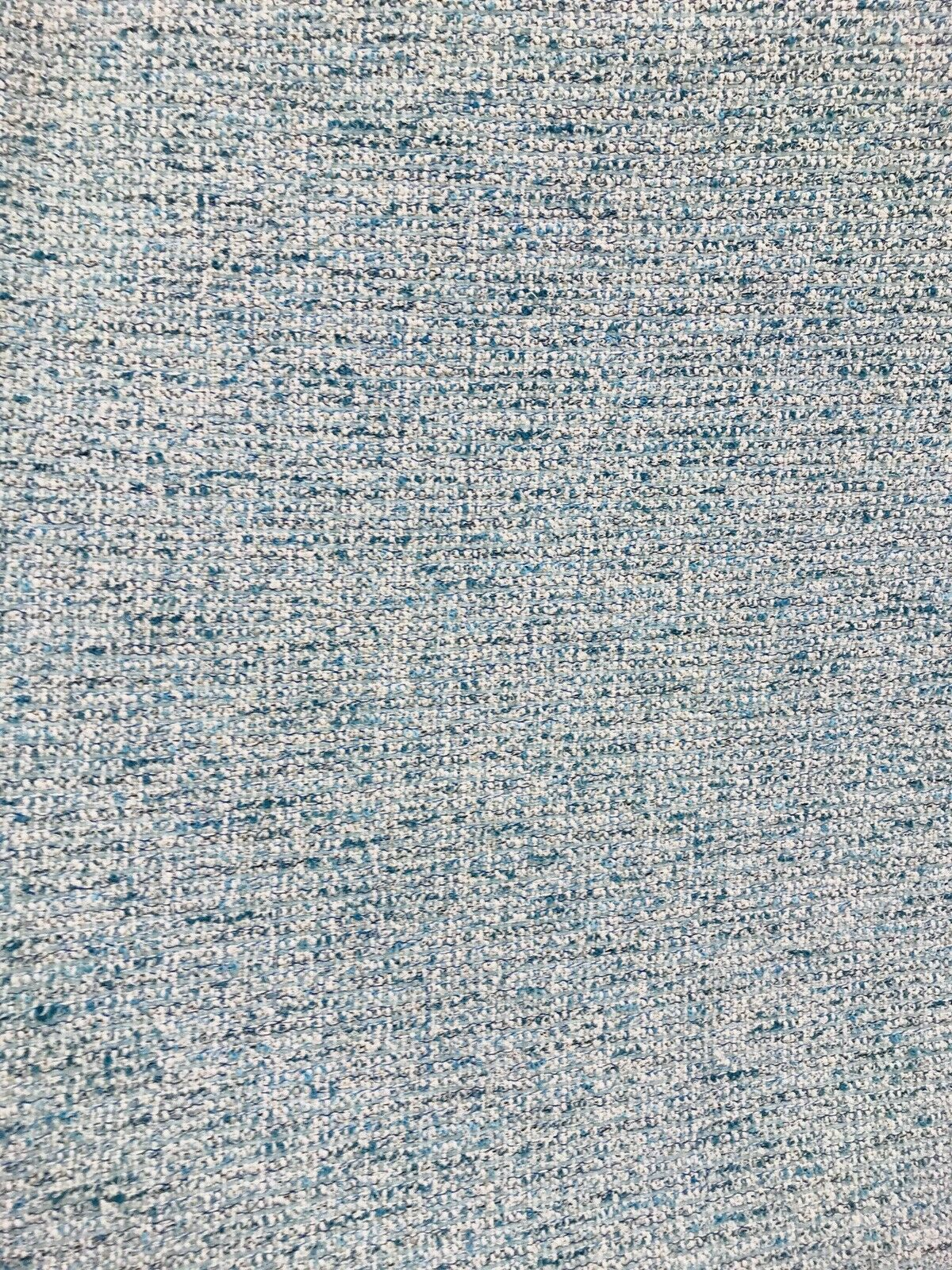 Designer Upholstery Heavyweight Tweed Fabric- Aqua Blue- Sold By The Yard