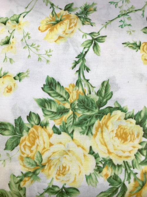 Designer 100% Cotton Woven Fabric French Floral Print By The Yard - Fancy Styles Fabric Pierre Frey Lee Jofa