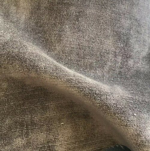 NEW Designer Antique Inspired Velvet Upholstery Fabric - Mushroom Taupe- BTY - Fancy Styles Fabric Pierre Frey Lee Jofa Brunschwig & Fils