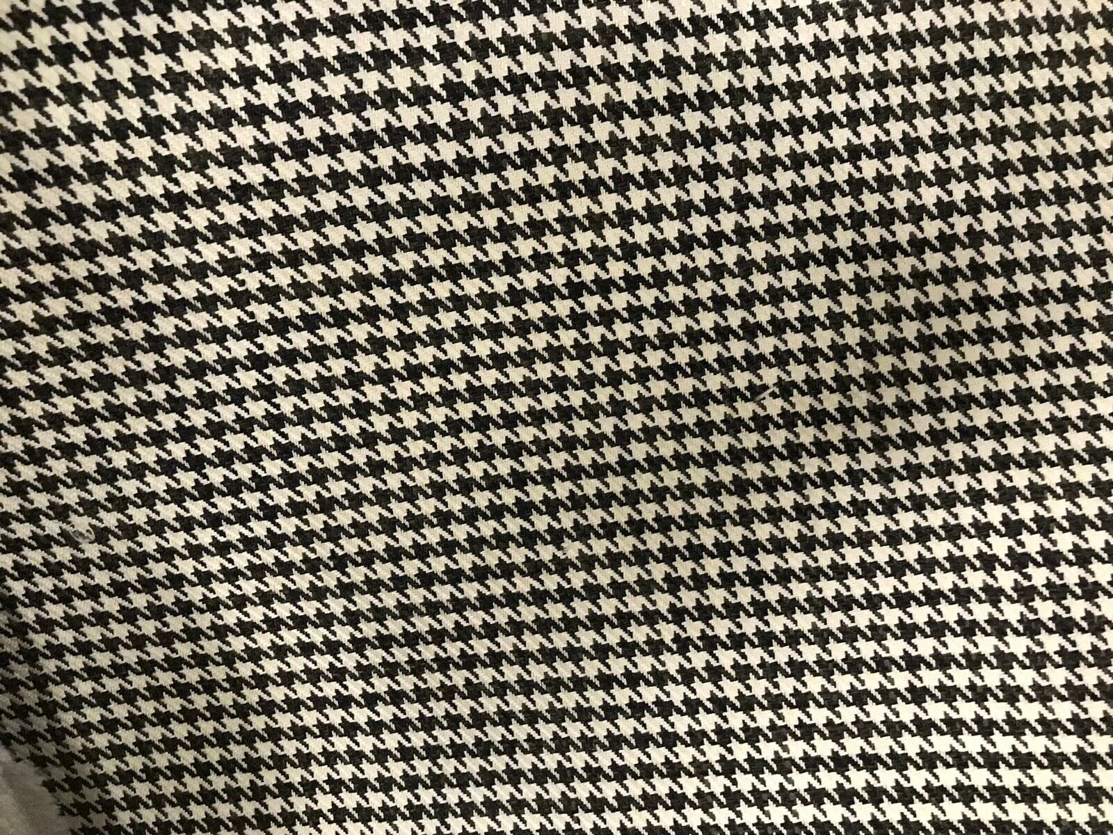 "Designer Upholstery Gingham Houndstooth Tweed Fabric- 56"" Wide -BTY"