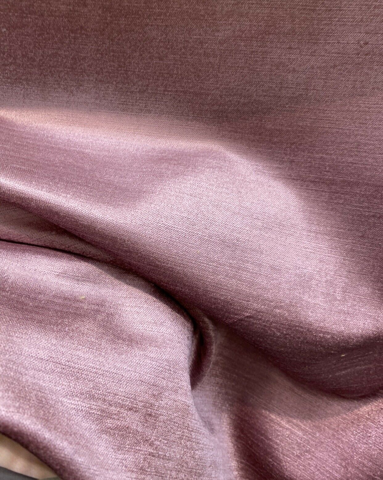 NEW! Designer Soft Heavy Weight Velvet Fabric -Mauve Pink - Upholstery BTY