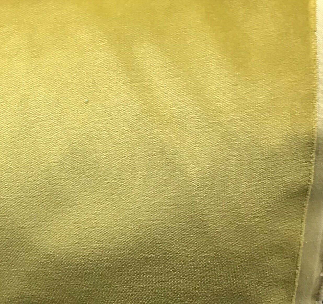 "SWATCH 4"" x 7"" Sample -Heavy Weight Velvet Upholstery Fabric - Soft- Yellow"