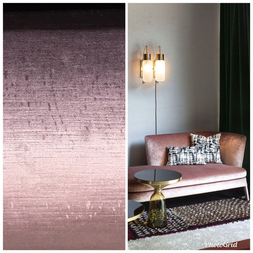 Designer Antique Inspired Velvet Fabric - Violet Pink - Upholstery - Fancy Styles Fabric Pierre Frey Lee Jofa