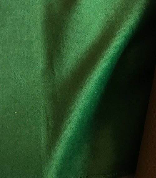 Designer Velvet Upholstery & Drapery Fabric -Kermit Green- By The Yard