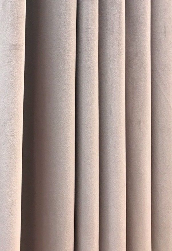 SWATCH Designer Drapery Velvet Fabric - Light Pink Lavender- Decorating - Fancy Styles Fabric Boutique