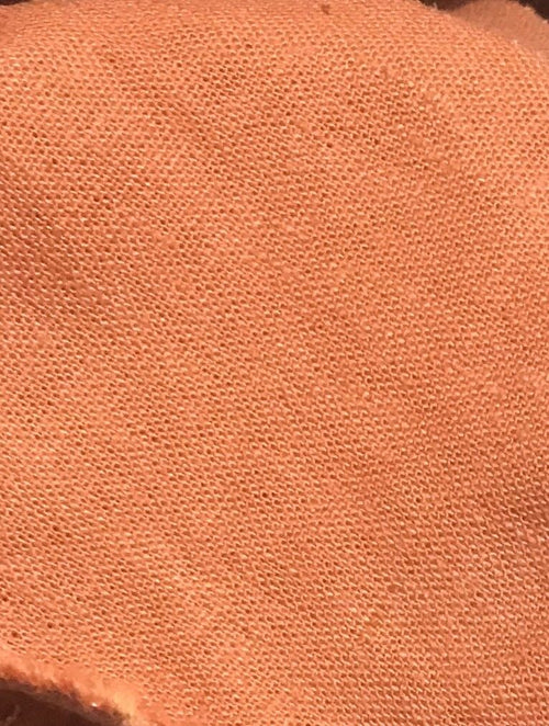 Fine Soft Linen Cotton Blend Woven Fabric By the yard- Color: Orange - Fancy Styles Fabric Pierre Frey Lee Jofa Brunschwig & Fils