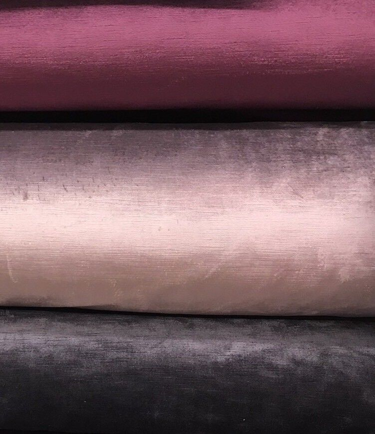 SWATCH- Designer Antique Inspired Velvet Fabric - Violet Pink - Upholstery - Fancy Styles Fabric Boutique