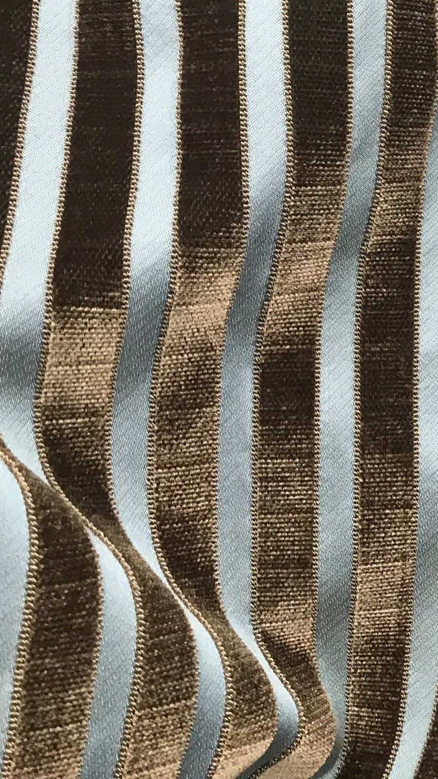 Made In Italy Burnout Damask Chenille Velvet Fabric Stripes - Upholstery - Fancy Styles Fabric Pierre Frey Lee Jofa Brunschwig & Fils
