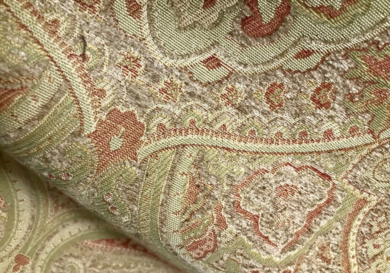 NEW Lord Heathcliff Heavy Weight Burnout Chenille Velvet Fabric- Upholstery Damask Kilim