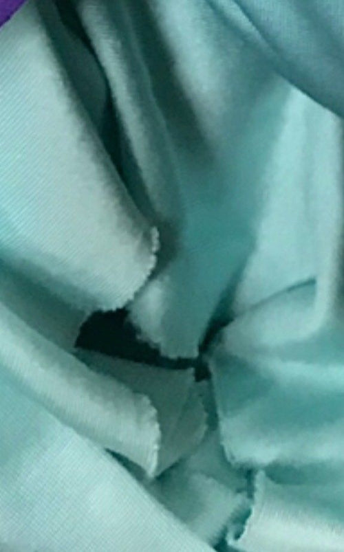 Close-Out Designer Runway 100% Silk Jersey Fabric - Light Turquoise Blue - Fancy Styles Fabric Pierre Frey Lee Jofa