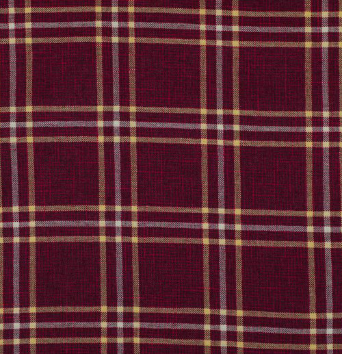 NEW Sir Adrian Plaid Tartan Upholstery Fabric in Merlot