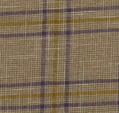 NEW Sir Adrian Plaid Tartan Upholstery Fabric in Taupe