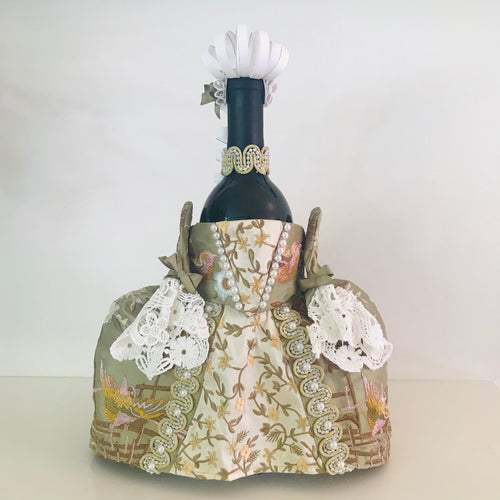 18th Century Wine Bottle Dress Pattern