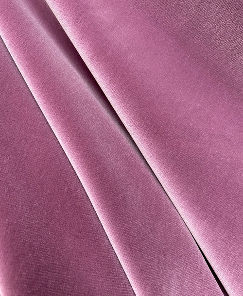 NEW! Prince Oliver Designer 100% Cotton Made In Belgium Upholstery Velvet Fabric Mauve