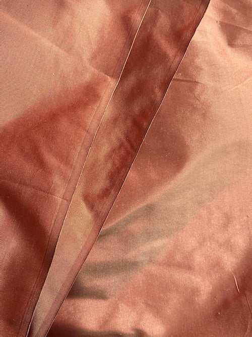NEW Lady Lisa Designer 100% Silk Ultra Icy Red Taffeta Fabric