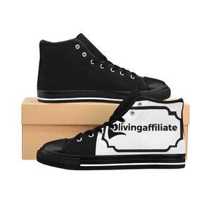 Men's High-top Sneakers - Livingaffiliate