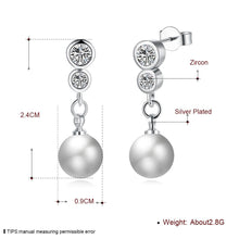 Best pearl earrings, silver plated fashion earrings - Livingaffiliate