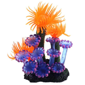 Best fish aquarium decorations Home Soft Artificial Resin Coral Fish Tank Aquarium Lovely Decoration XT - Livingaffiliate