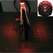 5 LED Mountain Bike Tail Light Taillight MTB Safety Warning Bicycle Rear Light Bicycle Lamp #EW - Livingaffiliate