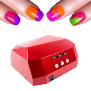 36W UV LED Nail Dryer 6 Colors Diamond Shaped UV Lamp LED Nail Lamp - Livingaffiliate