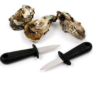 Practical Stainless Steel Utility Kitchen Tools Multifunction Open Shell Tool Oysters Scallops Seafood Oyster Knife - Livingaffiliate