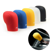 Silicone One piece Gear One Collars Cover Handbrake Grips For car(random color) - Livingaffiliate