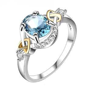 Alloy Engagement Ring with Crystal - Livingaffiliate