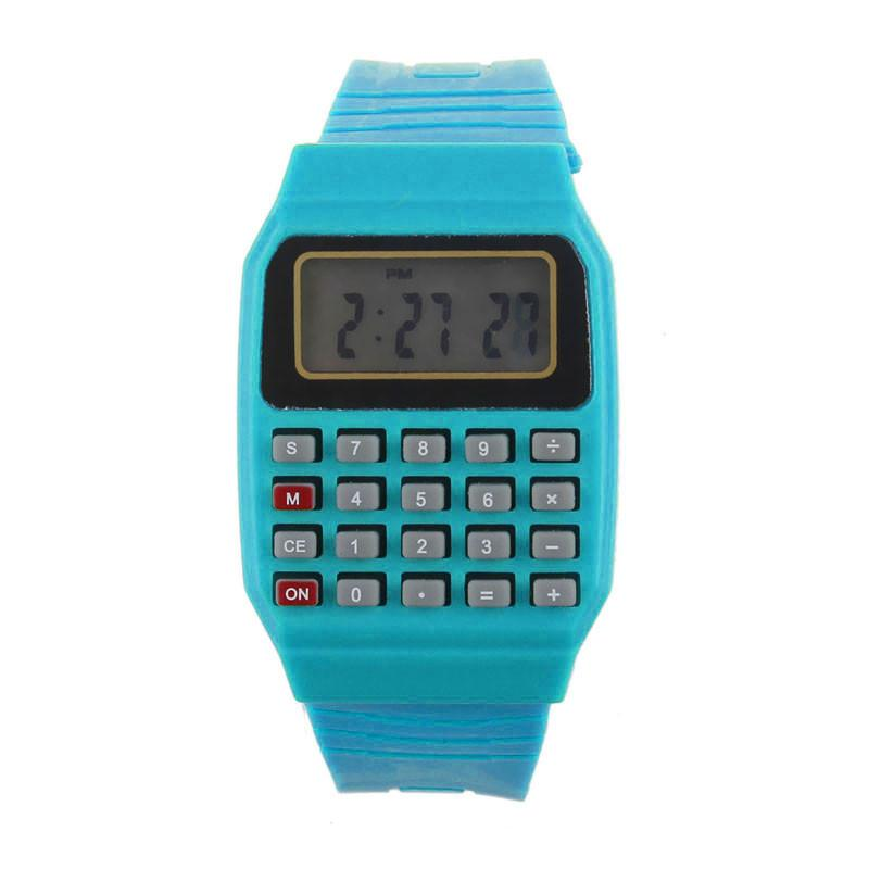 Best Silicone Multi-Purpose Time Electronic Wrist Calculator Watch - Livingaffiliate
