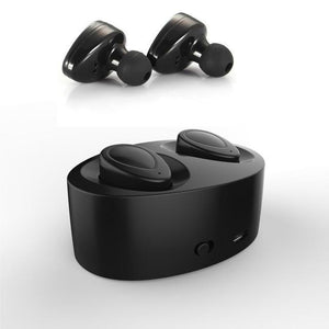 1 Pair Bluetooth 4.1 Earphones Separated Wireless Earphone Stereo Earbuds - Livingaffiliate