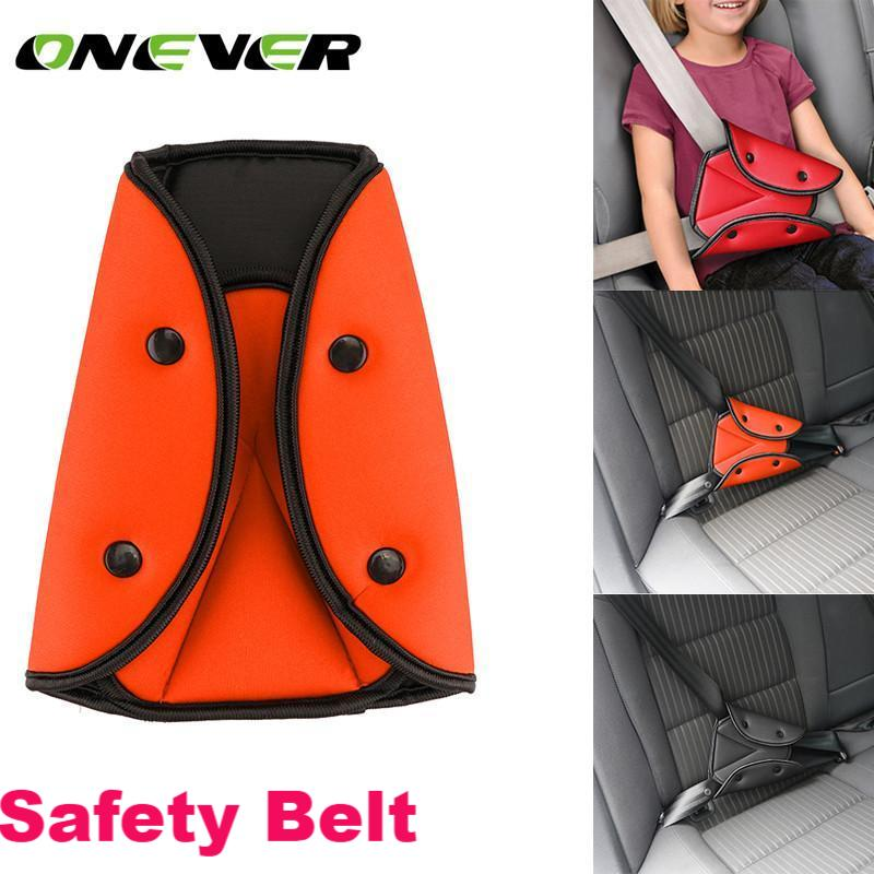 1Pcs  Safety Belt Adjust Device Triangle Baby Child Protection - Livingaffiliate