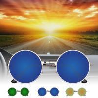 Vintage UV400 Round Mirror Metal Frame Sunglasses for Outdoor Sport Traveling Fishing Hiking Camping - Livingaffiliate