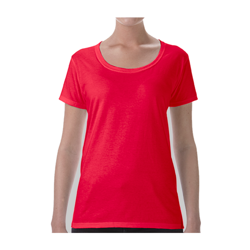 Gildan® Softstyle® Ladies' Deep Scoop T-Shirt