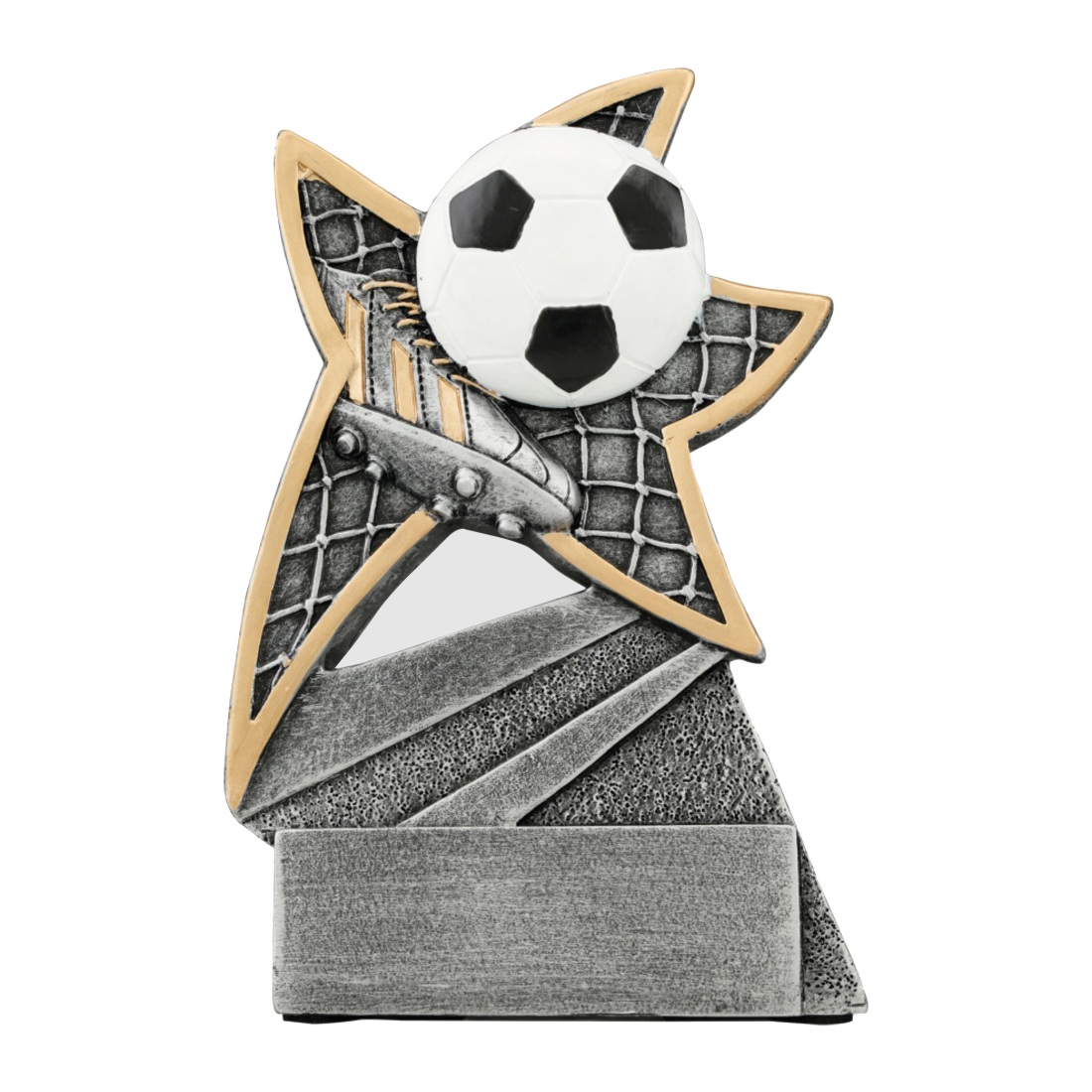 Soccer Jazz Star Resin