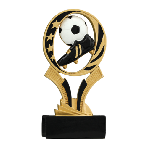 "7"" Soccer MidNite Star Resin Award"
