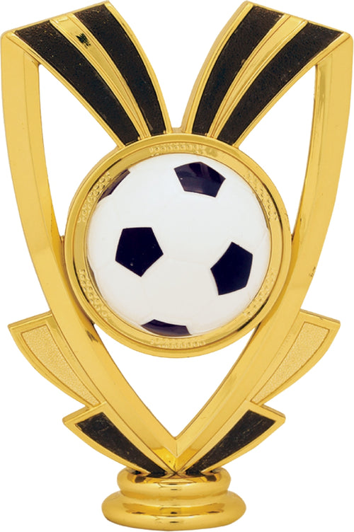 Soccer 3-Post, 2-Tier Trophy