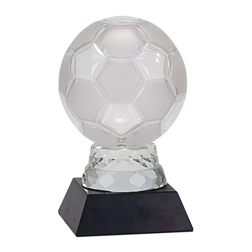 "6-1/4"" Glass Soccer Ball"