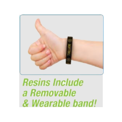 Soccer Trophy Bands Resin